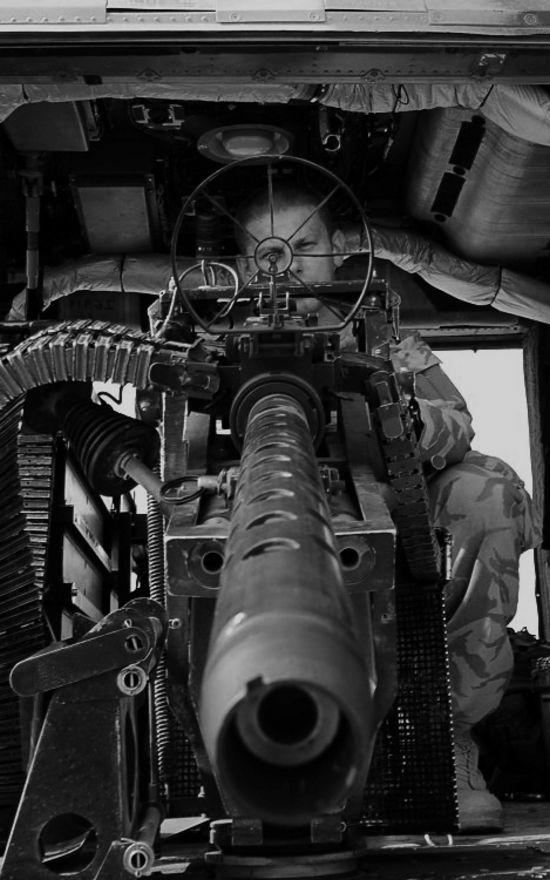 Lynx Mk9A Door Gunner