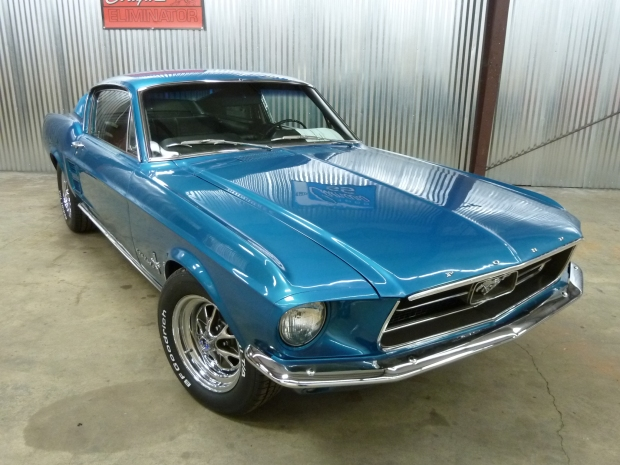 67 Mustang Fastback Aqua 006